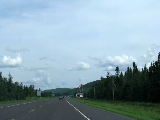 border between quebec and new brunswick